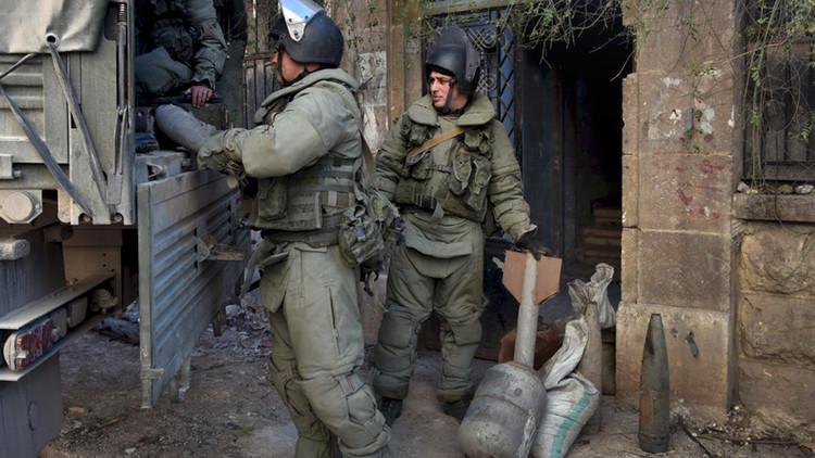 وصول وحدة عسكرية أخرى إلى سوريا لإزالة الألغام. صورة من الأرشيف