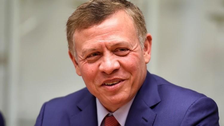 ملك الأردن يؤكد لممثل ترامب أن حل الدولتين هو