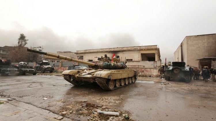 رداءة الطقس تعيق تقدم الجيش غرب الموصل