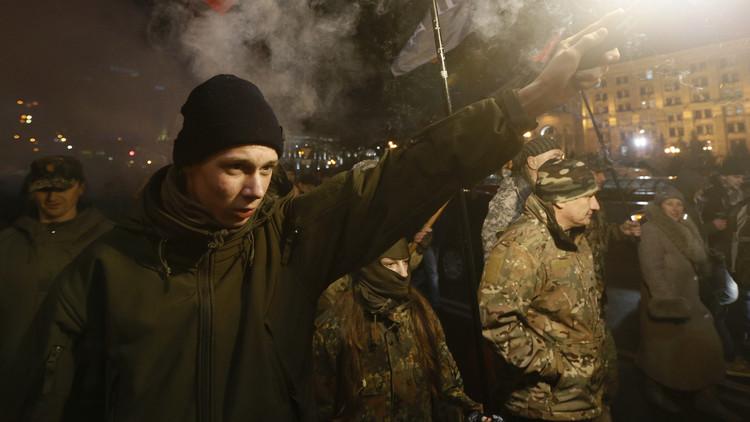 المتطرفون الأوكرانيون يشنون حملة صليبية