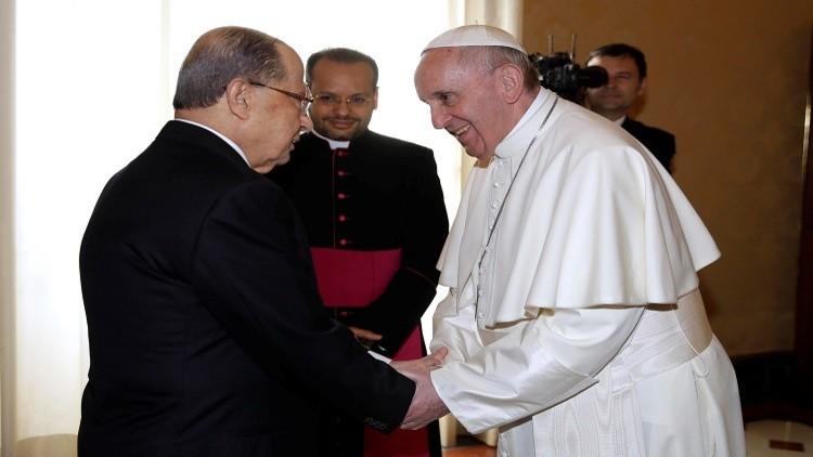 البابا: للبنان مكانة خاصة في قلبي لما يمثله من قيم