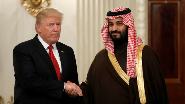الأمير السعودي يأخذ بلب سيد البيت الأبيض