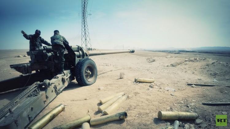 الجيش السوري يتقدم في ريف حلب الشرقي