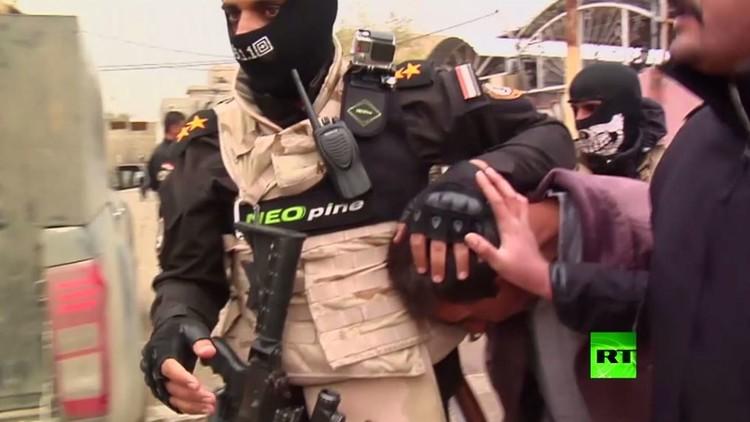 اعتقال أنصار داعش في الموصل