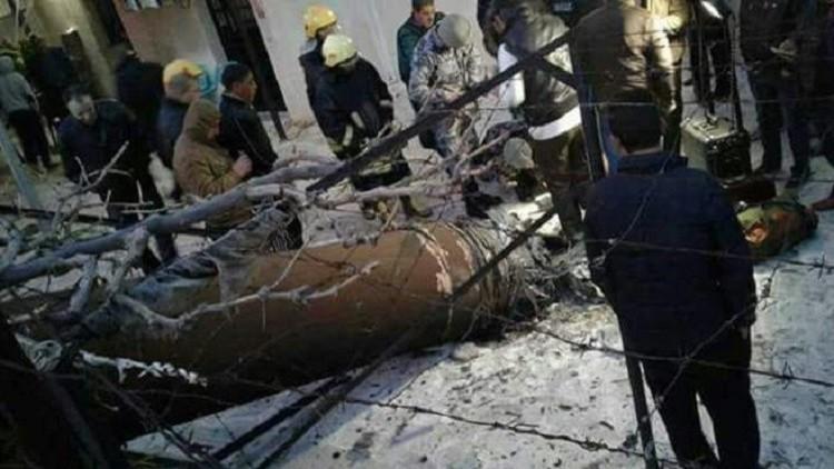 صواريخ سورية ردا على غارات إسرائيلية