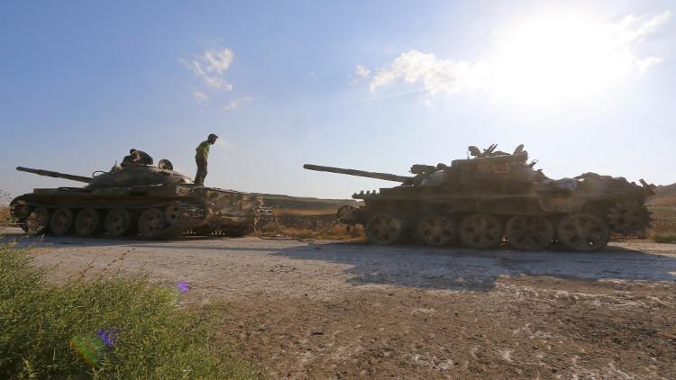 الجيش السوري يحبط محاولة تسلل داعش إلى محيط دير الزور