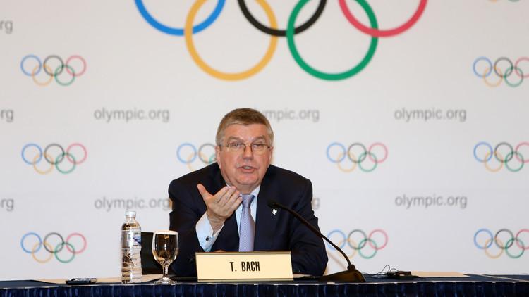 رئيس اللجنة الأولمبية الدولية الألماني توماس باخ