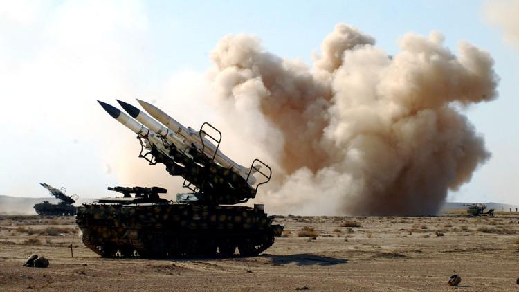وحدة صواريخ سام 200 تابعة للجيش العربي السوري