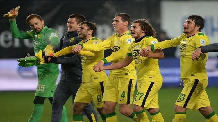انتصار ثمين لآنجي في الدوري الروسي