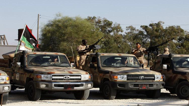 إطلاق نار على حشد مؤيد للجيش الليبي في طرابلس