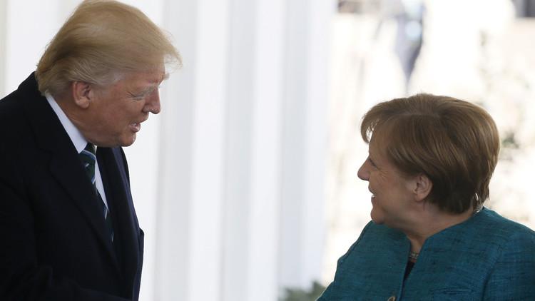 سوريا والعراق وأوكرانيا في صلب محادثات ترامب وميركل