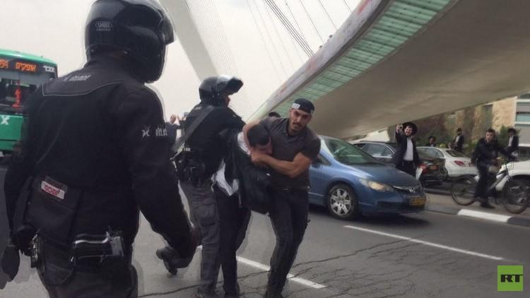اشتباكات بين الشرطة ويهود متشددين في القدس