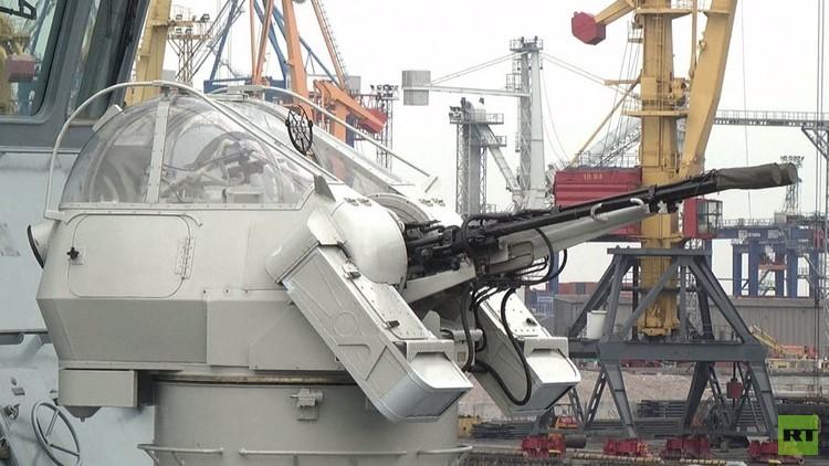رسو 4 سفن للناتو في ميناء أوديسا الأوكراني