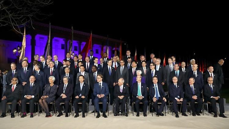 مجموعة الـ20 تتحاشى المناخ في اجتماعها الأخير