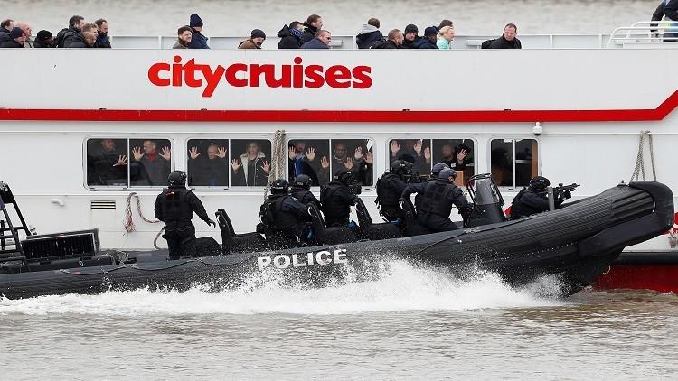 شرطة لندن تتدرب على إحباط هجمات إرهابية