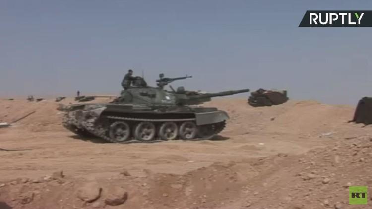 الجيش السوري يواصل عملياتها العسكرية ضد