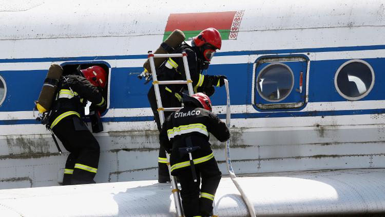 بيلاروس: العثور على مواد مشعة في طائرة