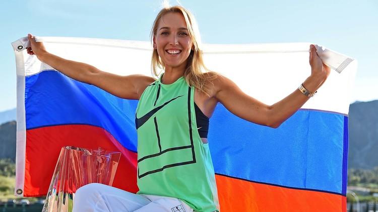 الروسية فيسنينا تقفز إلى المركز 13 في التصنيف العالمي