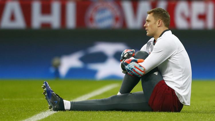 نوير يغيب عن المنتخب الألماني بداعي الإصابة