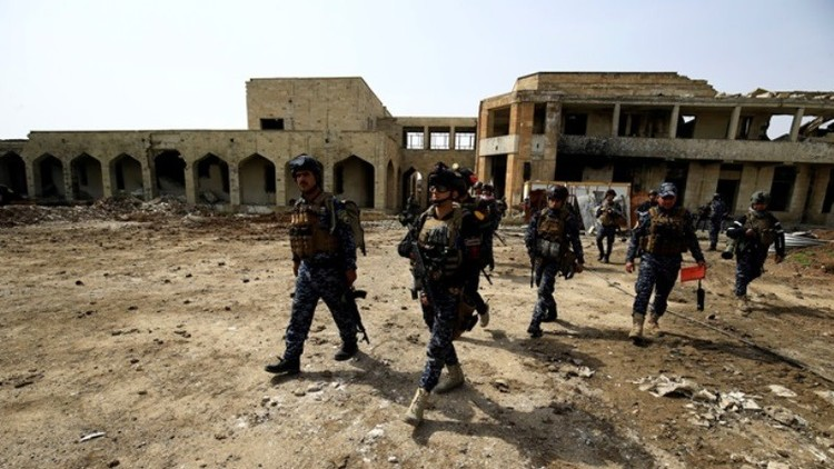 تحرير حي الرسالة وشقق نابلس في الساحل الأيمن لمدينة الموصل