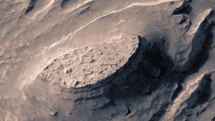 آلاف صور المريخ تتحول إلى فيديو مذهل