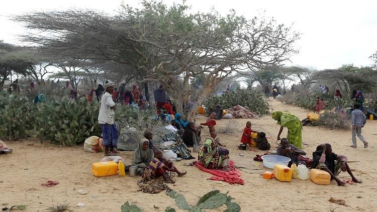 وفاة 26 شخصا بسبب الجوع جنوبي الصومال