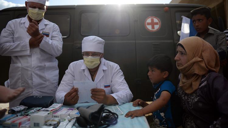 15 ألف مواطن سوري تلقوا المساعدة الطبية من الروس