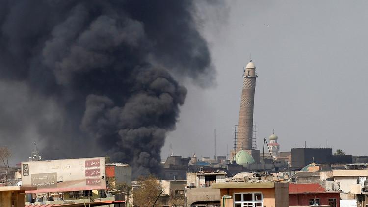 مقتل عشرات المدنيين بقصف للتحالف الدولى على الموصل