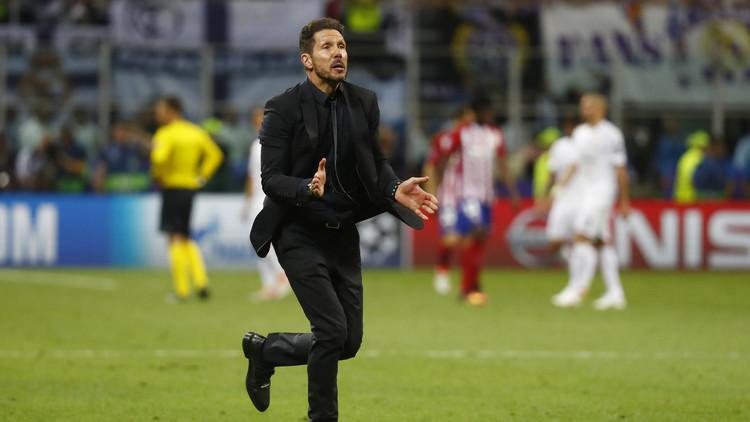 سيميوني يرد على فكرة تدريب ريال مدريد