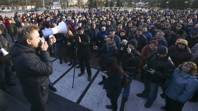 اعتقال 17 شخصا في بيلاروس للاشتباه في تحضيرهم لأعمال شغب