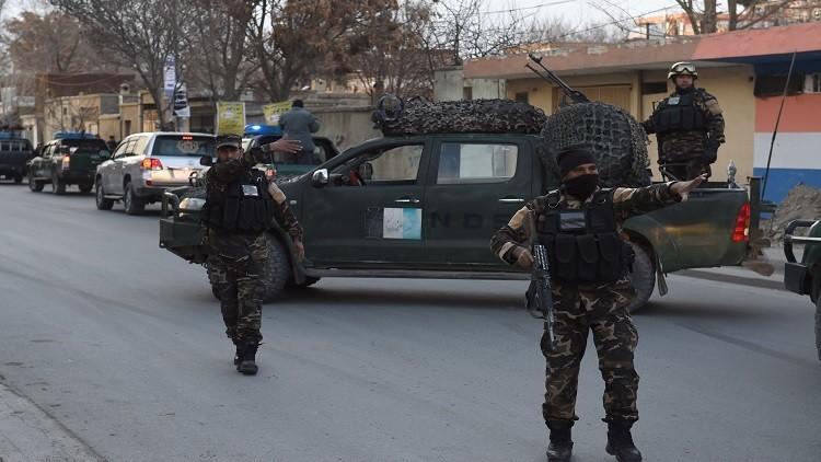 مقتل 9 رجال شرطة أفغان بنيران صديقة