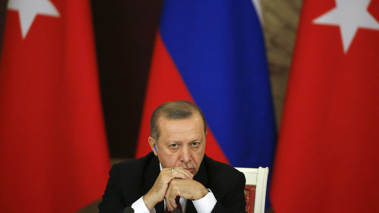 أردوغان منزعج من اهتمام موسكو بأكراد سوريا
