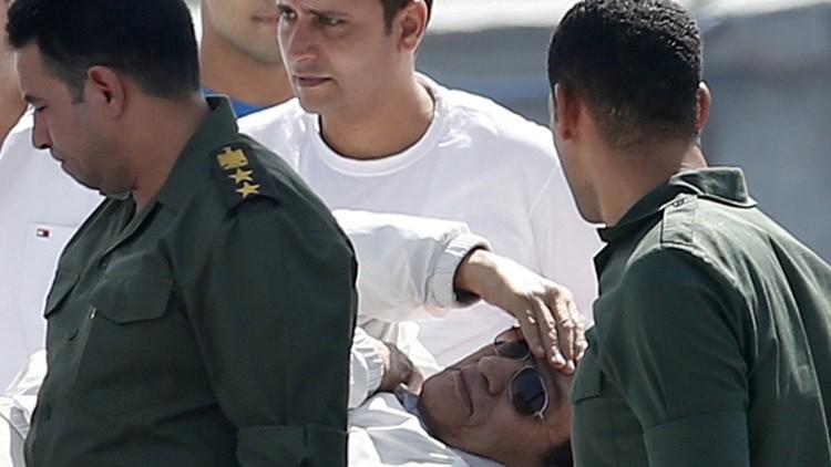 مبارك يعود إلى بيته بعد إخلاء سبيله