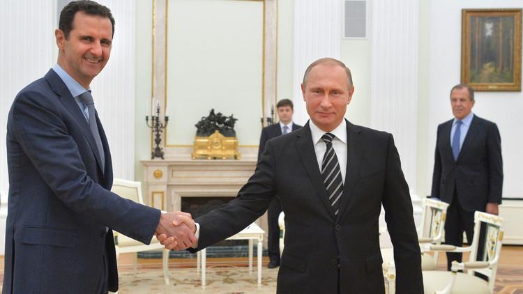 الجعفري: التنسيق مستمر بين بوتين والأسد