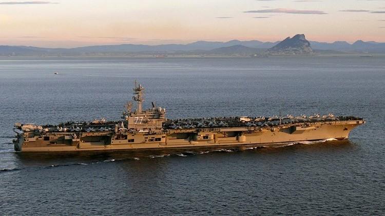 البحرية الأمريكية: القوات الإيرانية تحرشت بسفننا الحربية  في مضيق هرمز