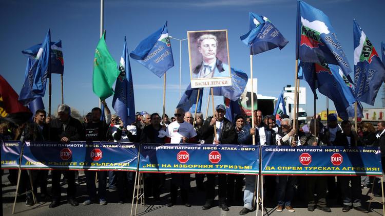 قوميون بلغار يغلقون الحدود مع تركيا لمنع تدخل أنقرة في الانتخابات البرلمانية