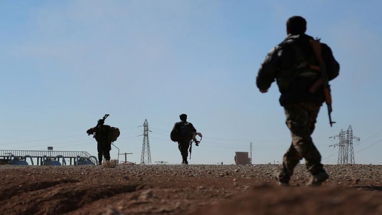 التحالف الدولي يدرب قوة شرطة استعدادا لما بعد تحرير الرقة