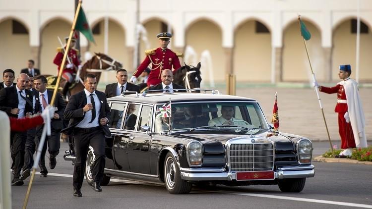 المغرب يجري تحقيقا بخصوص حادثة اختراق موكب الملك
