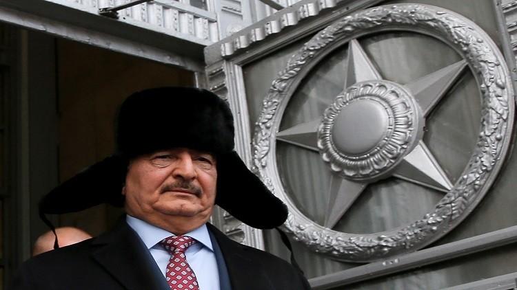 جنرال أمريكي يزعم تقديم روسيا دعما لقوات حفتر