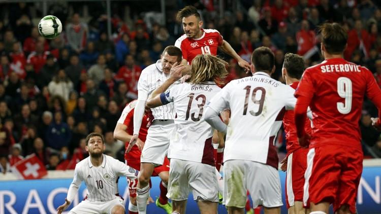 تصفيات مونديال 2018 .. سويسرا تنجز المهمة أمام لاتفيا