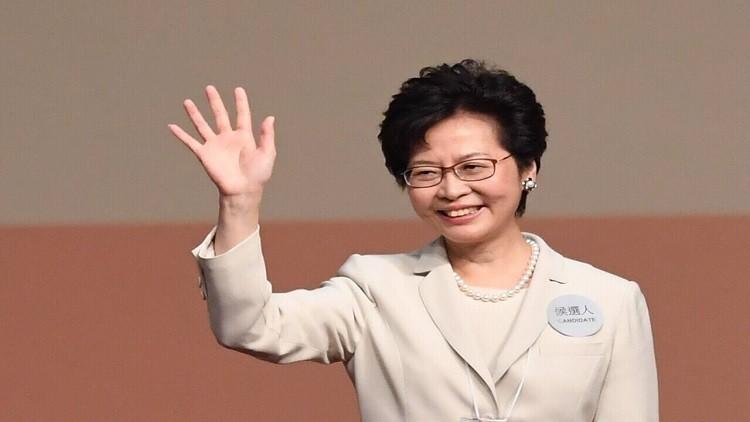 كاري لام رئيسة جديدة لهونغ كونغ