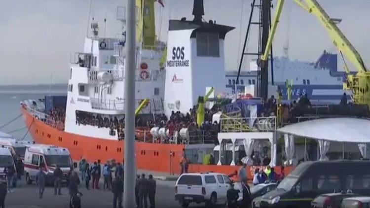 نجدة 1000 مهاجر ووفاة مهاجرة قبالة سواحل ليبيا