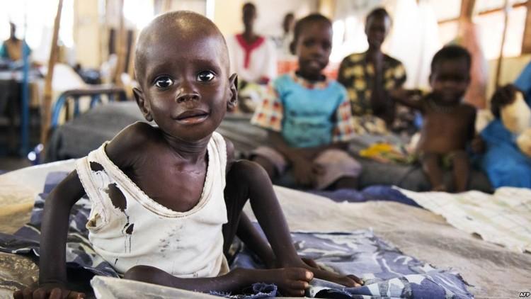 الأمم المتحدة: ثلث سكان جنوب السودان يعانون من المجاعة ويحتاجون لمساعدات غذائية