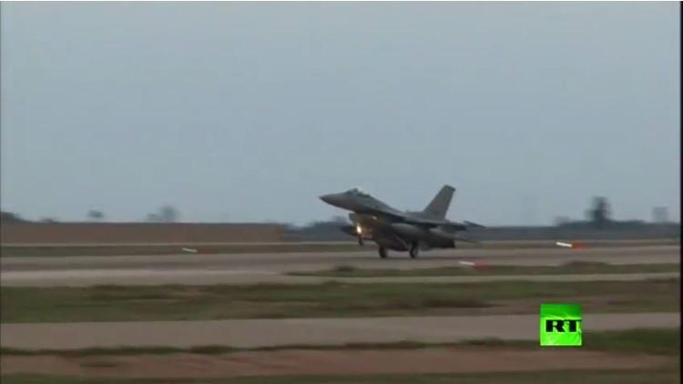 العراق.. دفعة جديدة من مقاتلات إف-16 الأمريكية تصل قاعدة بلد الجوية