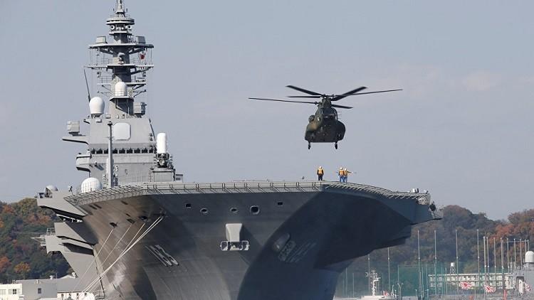 المروحيات اليابانية ستبحث عن الغواصات الصينية