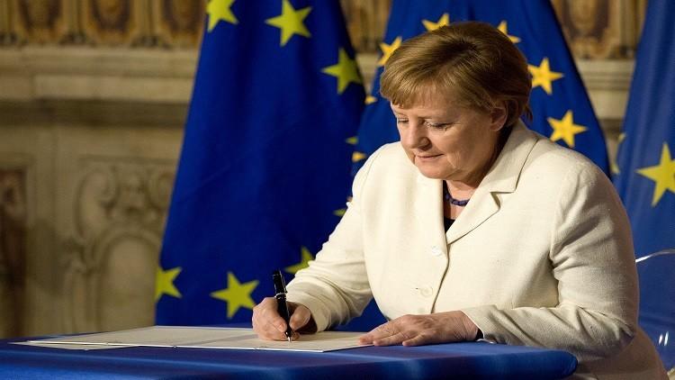 الاتحاد الأوروبي من دون بريطانيا ولكن مع ميركل