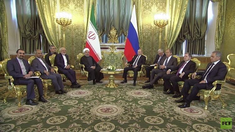 توقيع 16 اتفاقية روسية-إيرانية