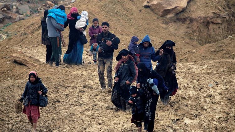 البنتاغون يعلن الطرف المسؤول عن تسوية الوضع الإنساني في الموصل