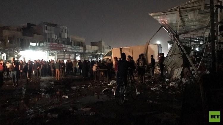 ارتفاع حصيلة ضحايا تفجير بغداد إلى 17 قتيلا