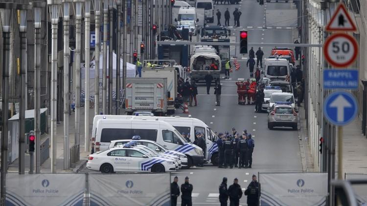 3 جرحى بعملية طعن أمام السفارة التركية في بروكسل